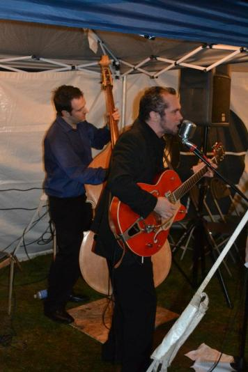 My Uncle playing at my wedding