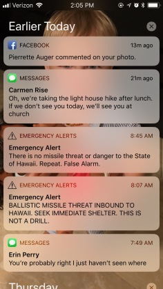The alerts
